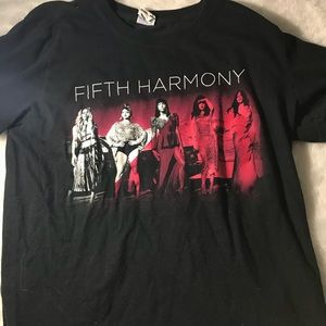 Tops - FIFTH HARMONY 7/27 SUMMER 2016 TOUR TEE
